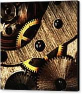Macro Mechanic Canvas Print