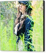 Mad Hatter Canvas Print by Stephanie Necessary