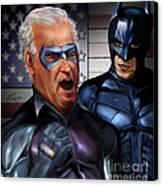 Mad Men Series 3 Of 6 - Obama And Biden Canvas Print by Reggie Duffie