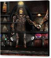 Mad Scientist - The Enforcer Canvas Print