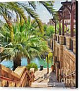 Madinat Jumeirah Souk - Dubai Canvas Print