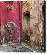 Madonna Of The Alley Canvas Print