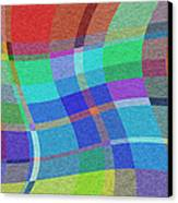 Madras Twist Canvas Print by Gregory Scott