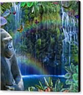 Magic Jungle Canvas Print