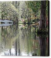 Magnolia Plantation Gardens Series II Canvas Print