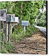 Mail Route Canvas Print