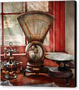 Mailman - The Mail Scale  Canvas Print by Mike Savad