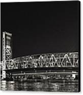 Main Street Bridge Jacksonville Florida Canvas Print by Christine Till