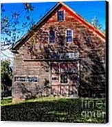 Maine Barn Canvas Print by Marcia Lee Jones