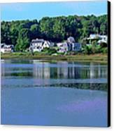 Maine Lakefront Canvas Print