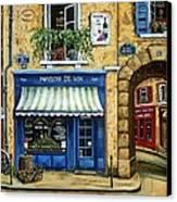 Maison De Vin Canvas Print