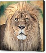 Majestic King Canvas Print by Everet Regal