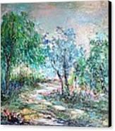 Majestic Canvas Print by Mary Spyridon Thompson