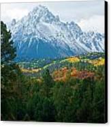 Majestic Mt. Sneffels Canvas Print by John Hoffman