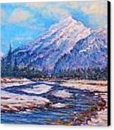 Majestic Rise - Impressionism Canvas Print by Joseph   Ruff