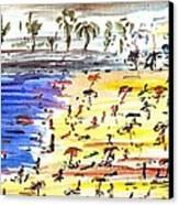 Majorca Playa Canvas Print