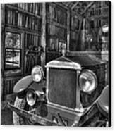 Maker's Mark Firehouse 2 Bw Canvas Print