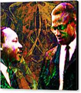 Malcolm And The King 20140205 Canvas Print by Wingsdomain Art and Photography