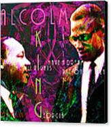Malcolm And The King 20140205m68 With Text Canvas Print by Wingsdomain Art and Photography
