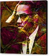 Malcolm X 20140105 Canvas Print