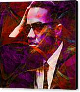 Malcolm X 20140105m28 Canvas Print by Wingsdomain Art and Photography
