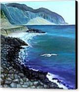 Malibu Beach Canvas Print