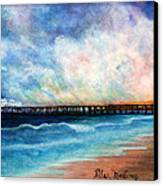 Malibu Pier Canvas Print