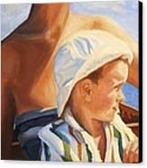 Mama Goddess Canvas Print by Janet McDonald