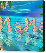 Mama Ocean Canvas Print