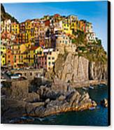 Manarola Canvas Print by Inge Johnsson