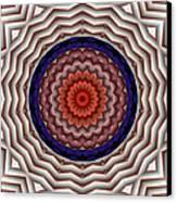 Mandala 10 Canvas Print by Terry Reynoldson