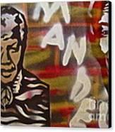 Mandela Canvas Print by Tony B Conscious