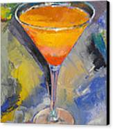 Mango Martini Canvas Print