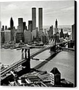 Manhattan 1978 Canvas Print by Benjamin Yeager