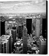 Manhattan Canvas Print by Dave Bowman