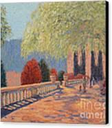 Manhattan Park Canvas Print