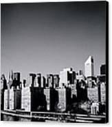 Manhattan Canvas Print by Shaun Higson