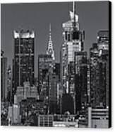 Manhattan Twilight Ix Canvas Print by Clarence Holmes