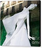 Mannequin In Barcelona Canvas Print