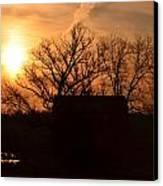 March Sunrise4 Canvas Print by Jennifer  King