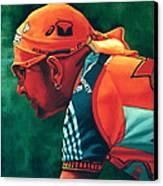 Marco Pantani 2 Canvas Print by Paul Meijering