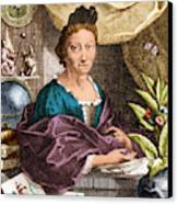 Maria Merian  Canvas Print by Science Source