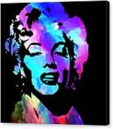 Marilyn Art Canvas Print by Kenneth Feliciano
