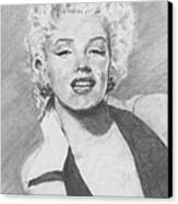 Marilyn. Canvas Print