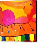 Marimba Canvas Print by Jose jackson Guadamuz guadamuz