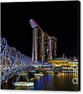 Marina Bay Sands Canvas Print by Pete Reynolds