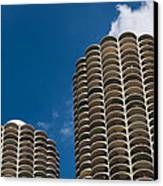 Marina City Morning Canvas Print