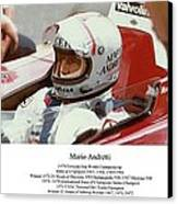 Mario Andretti Canvas Print by Don Struke