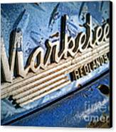 Marketeer Canvas Print by Pam Vick