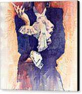 Marlen Dietrich  Canvas Print by Yuriy  Shevchuk